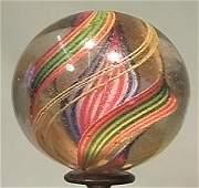 "89059: 89059 BB Marbles: Ribbon Core Swirl 1-5/8"" 8.9"