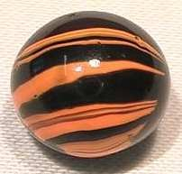 89245: 89245 BB Marbles: CAC Electric Striped Opaque 9.