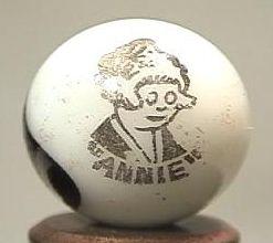 """89320 BB Marbles: Peltier Annie Comic 11/16"""" 9.7"""