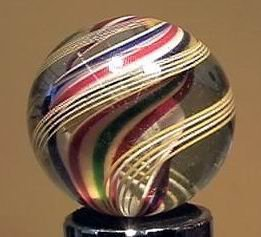 """90010 BB Marbles: Divided Core Siwrl 1-1/2"""" Pol."""