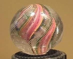 """90014 BB Marbles: Divided Core Swirl 1-1/16"""" 7.4"""