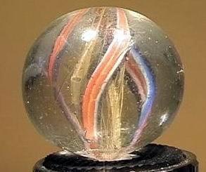 """90015 BB Marbles: Latticinio Swirl 1-1/16"""" 8.5"""