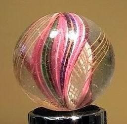 """90017 BB Marbles: Ribbon Swirl 1-7/16"""" 8.3"""