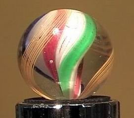 "90021 BB Marbles: Ribbon Swirl 1"" Polished"
