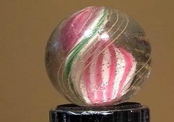 """90023 BB Marbles: Ribbon Swirl 1-1/16"""" 8.5"""