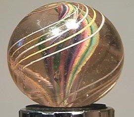 "91003 BB Marbles: Ribbon Core Swirl 1-5/16"" 8.6"