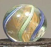 """91010 BB Marbles: Latticinio core 5/8"""" 8.7"""
