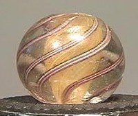 """91012 BB Marbles: Solid Core Swirl 5/8"""" 8.6"""
