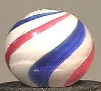 "91015 BB Marbles: Peppermint Swirl 25/32"" 8.9"