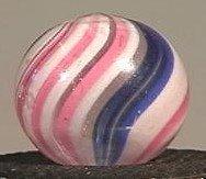 "91016 BB Marbles: Peppermint Swirl 21/32"" 8.9"