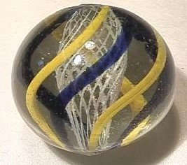 """92009 BB Marbles: Latticinio Swirl 1-7/16"""" 9.0"""