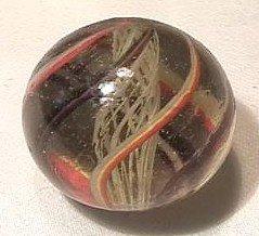"""92013 BB Marbles: Latticinio Swirl 1-1/4"""" 8.9"""