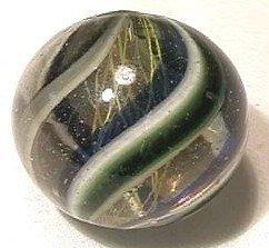 """92015 BB Marbles: Latticinio Swirl 1-3/16"""" 9.5"""