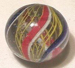 """92019 BB Marbles: Latticinio Swirl 1"""" 8.2"""
