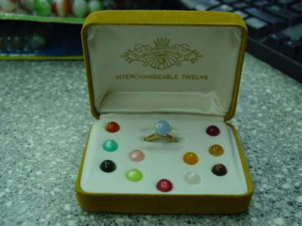 93002 BB Marbles: Interchangeable Marble Ring Set