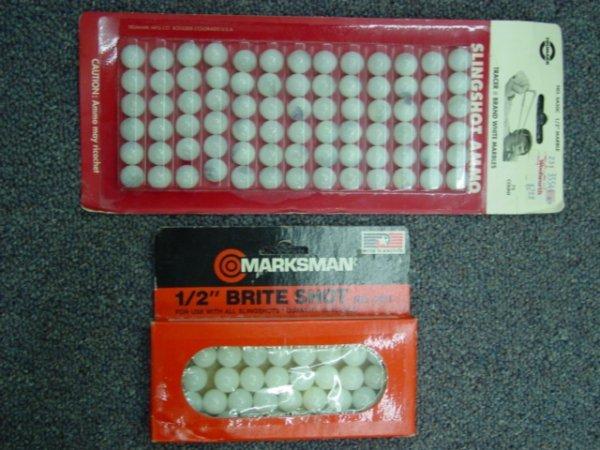 93005 BB Marbles: 2 Packs of Slingshot Marbles