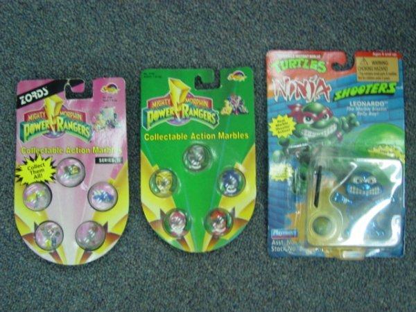 93011 BB Marbles: 3 Teenage Mutant Ninja Turtles