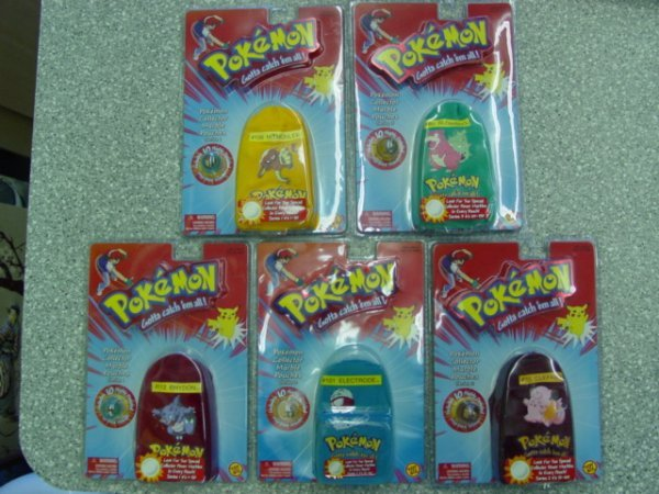 93013 BB Marbles: 5 Pokemon Marble Packages