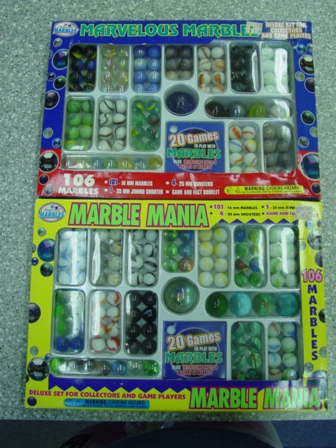 93017 BB Marbles: 2 Marble Packages