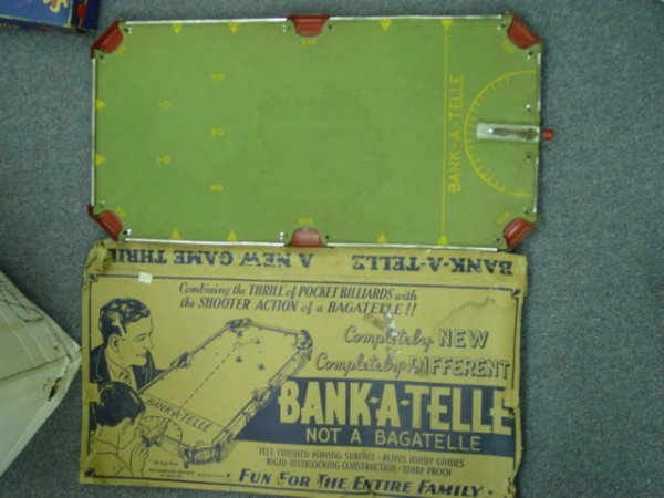93018 BB Marbles: Bank-A-Telle Marble Game and box