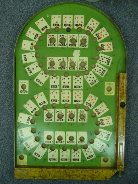 93021 BB Marbles: Poker Bagatelle, maybe Lindstrom