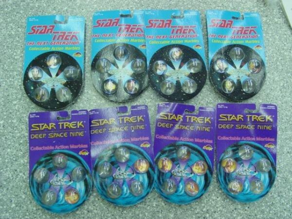 93012: 93012 BB Marbles: 8 Star Trek Rad Rollor Packs