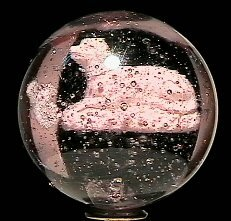2: 65002 BB Marbles: Reclining Dog Sulphide