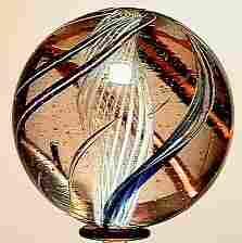 65005 BB Marbles: Latticinio Core Swirl