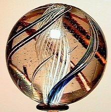 5: 65005 BB Marbles: Latticinio Core Swirl