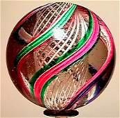 6: 65006 BB Marbles: Latticinio Core Swirl