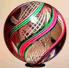 65006 BB Marbles: Latticinio Core Swirl