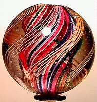 7: 65007 BB Marbles: Divided Core Swirl