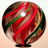 8: 65008 BB Marbles: 4-Layer Solid Core Swirl