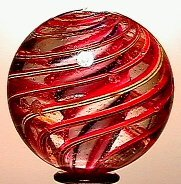 9: 65009 BB Marbles: Solid Core Swirl
