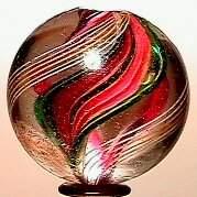 65010 BB Marbles: Ribbon Core Swirl