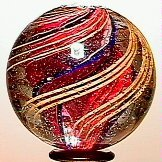 11: 65011 BB Marbles: Divided Core Swirl
