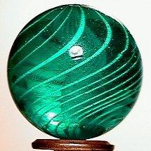 13: 65013 BB Marbles: Colored Glass Latticinio Swirl
