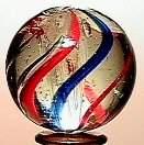 17: 65017 BB Marbles: Latticinio Core Swirl