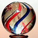65017 BB Marbles: Latticinio Core Swirl