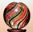18: 65018 BB Marbles: Latticinio Core Swirl