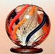 21: 65021 BB Marbles: Latticinio Core Swirl