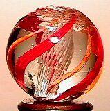 65023 BB Marbles: Latticinio Core Swirl