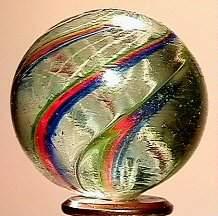 65312 BB Marbles: Latticinio Core Swirl
