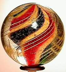 66016 BB Marbles: Solid Core Swirl