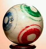 66022 BB Marbles: Bullseye China