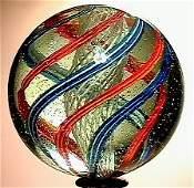 2041: 66041 BB Marbles: Latticinio Core Swirl