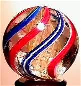 2054: 66054 BB Marbles: Latticinio Core Swirl