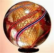 2069: 66069 BB Marbles: Latticinio Core Swirl