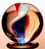 2167: 66167 BB Marbles: Ribbon Core Swirl