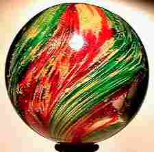 2180: 66180 BB Marbles: Rare Ribbon Onionskin
